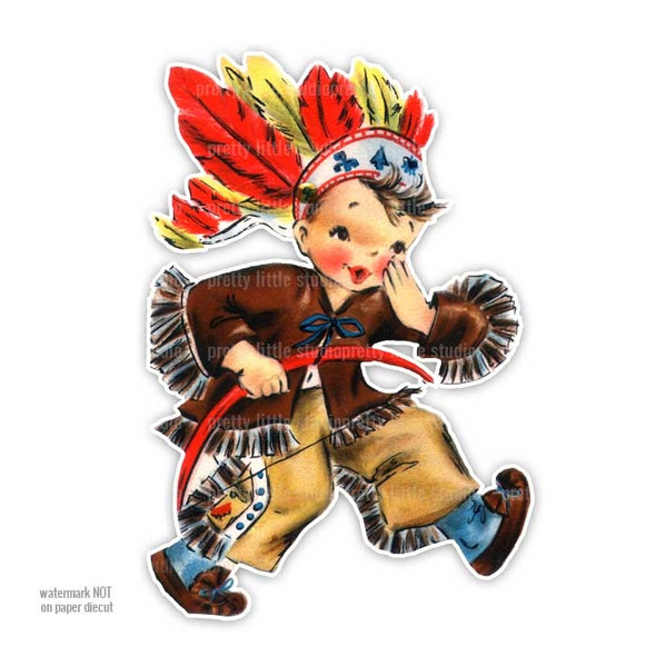 Vintage Die-cut | Chief