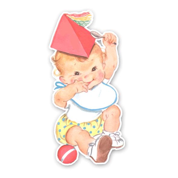 Vintage Die-Cut | Baby Pearl