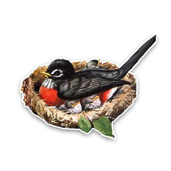 Vintage Die-Cut | Robin's Nest