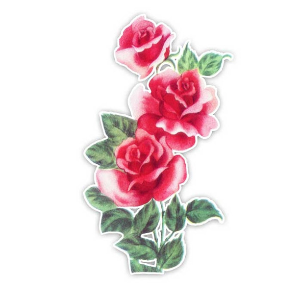 Vintage Die-Cut | Rose #2