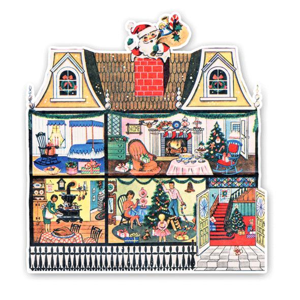 Vintage Die-Cut | Christmas Home