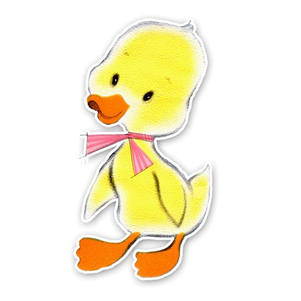 Vintage Die-cut | Daphne Duck