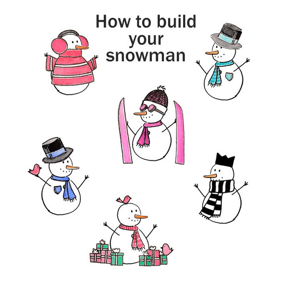 Die-Cuts | Snowmen Kit