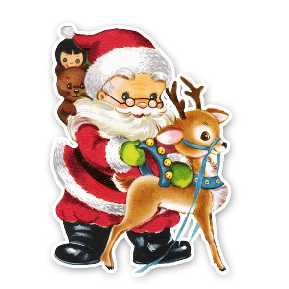 Vintage Die-Cut | Santa #7