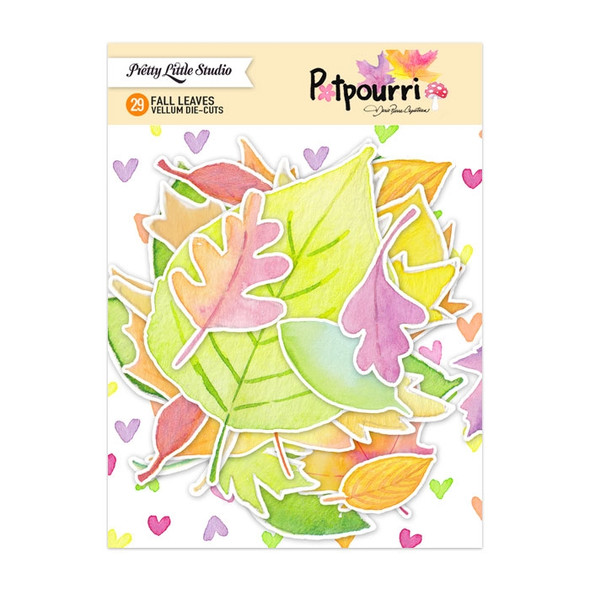 Die-Cuts | Potpourri Fall Leaves | Vellum