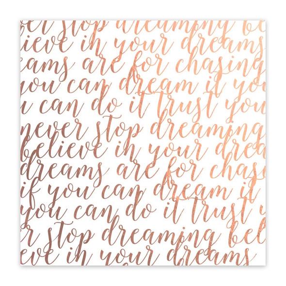 Paper Rose Metallic | Dreamer's Diary