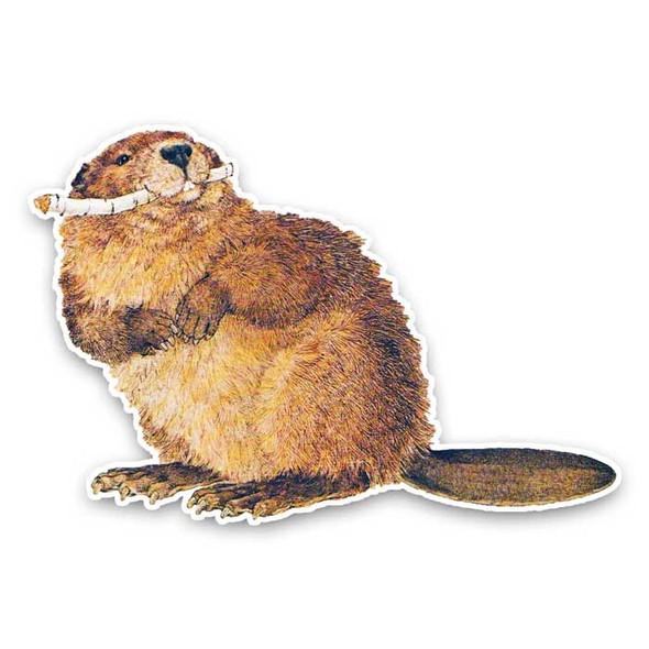 Vintage Die-Cut | Beaver