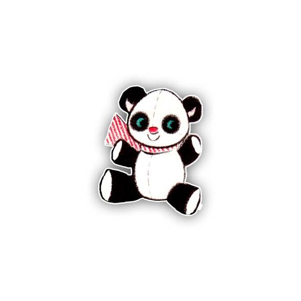 Vintage Die-Cut | Panda | mini