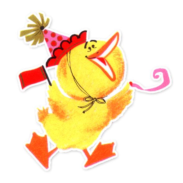 Vintage Die-cut | Chick Celebration
