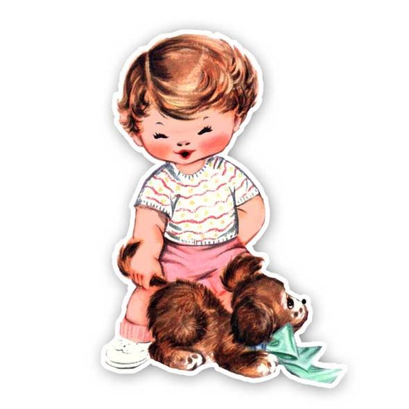Vintage Die-Cut | Baby Jane