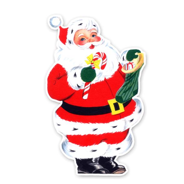 Vintage Die-Cut | Santa #2