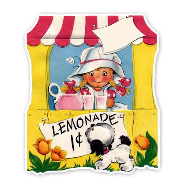 Vintage Die-Cut |  Lemonade Stand