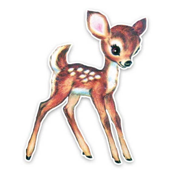 Vintage Die-Cut | Lucky the Fawn