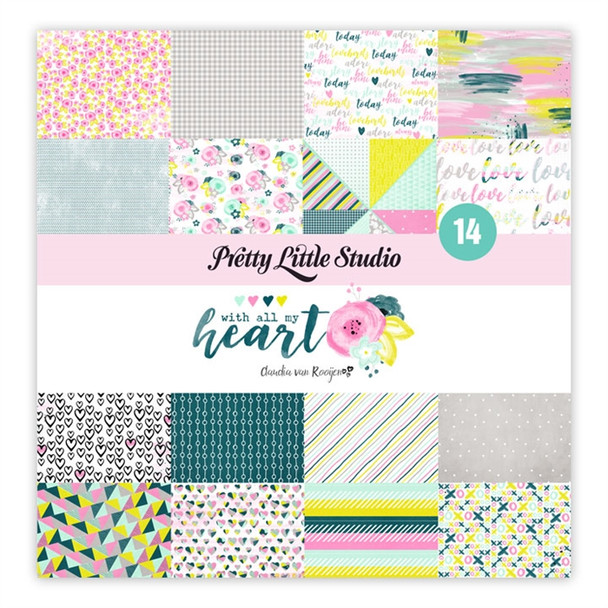 Paper Pack | With All My Heart 8x8