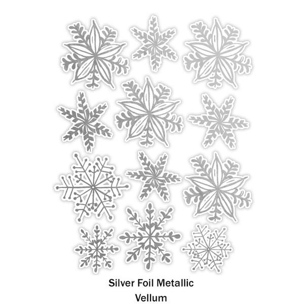 Die-Cuts | Snowflakes | Vellum