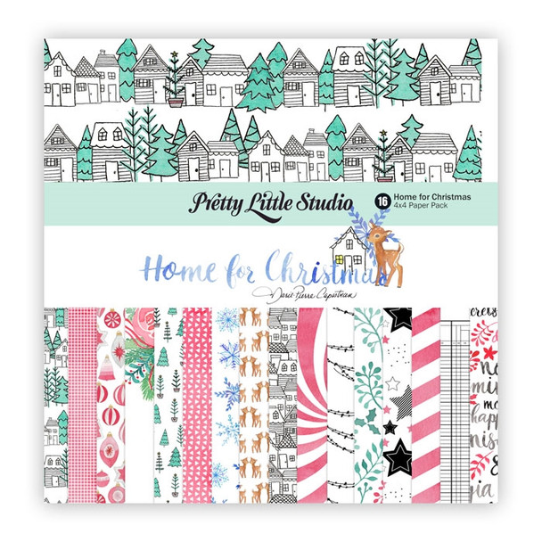Paper Pack | Home for Christmas 4x4