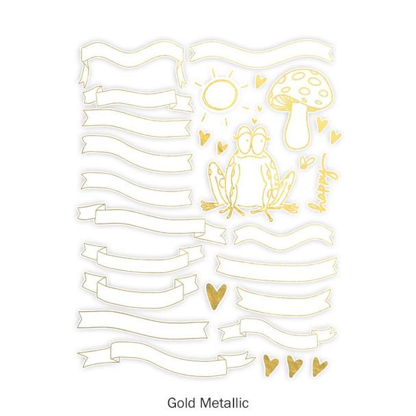 Die-Cut | Fall Banners | Gold