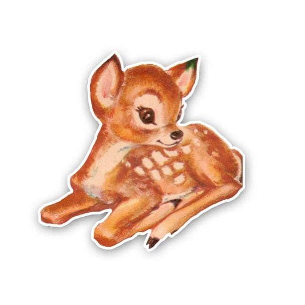 Vintage Die-Cut | Flo the Fawn
