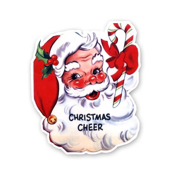 Vintage Die-cut | Santa #3