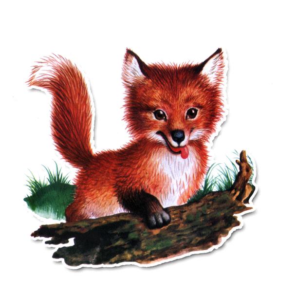Vintage Diecut | Finley the Fox