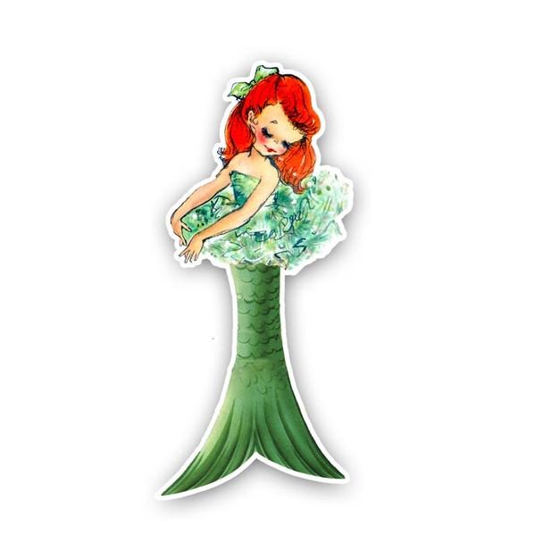 Vintage Die-Cut | Jewel Mermaid