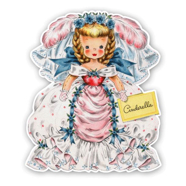 Vintage Diecuts - Cinderella