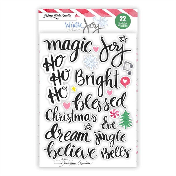 Stickers   Jingle Bell Words