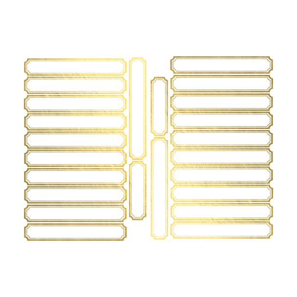 Die-Cuts | Gold Labels