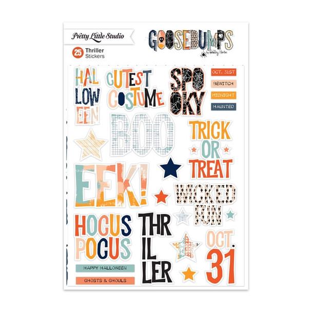 Stickers | Thriller Words