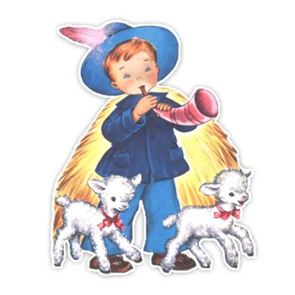 Vintage Diecut | Little Boy Blue #2