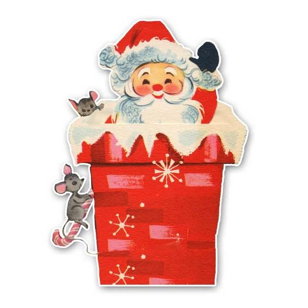 Vintage Diecut | Santa #11