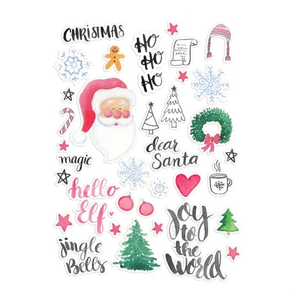 Die-Cuts   Dear Santa