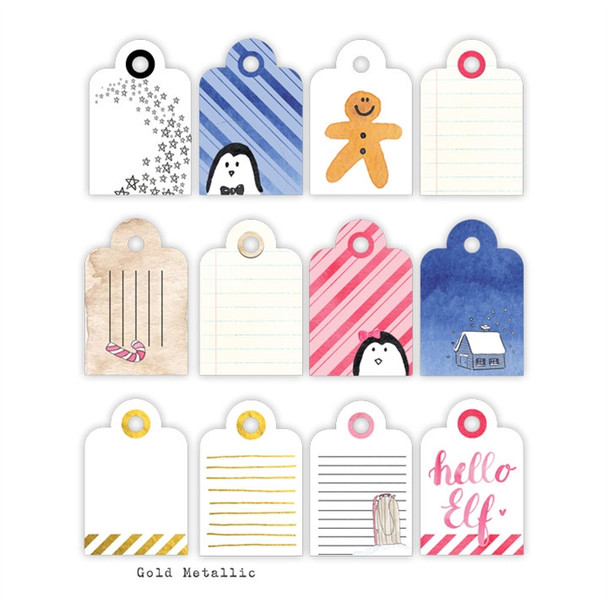Die-Cuts | Cocoa Tags