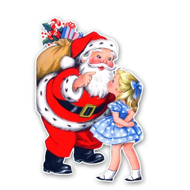 Vintage Diecut | Santa #9