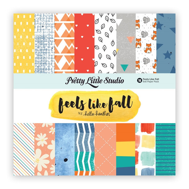 Paper Pack | Feels Like Fall 6x6