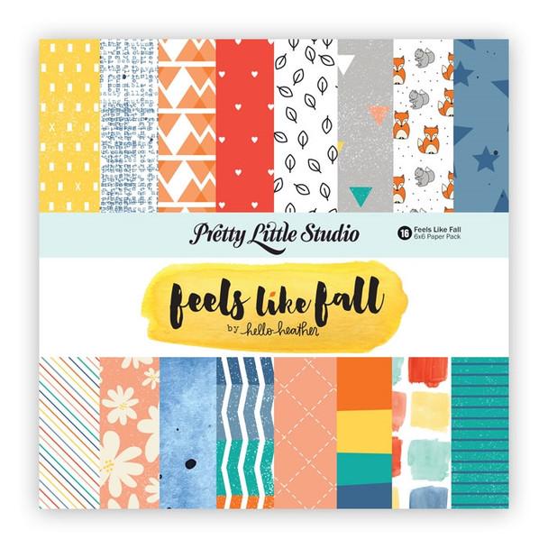Paper Pack   Feels Like Fall 6x6