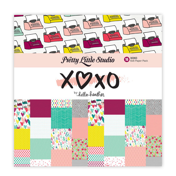Paper Pack | XOXO 6x6