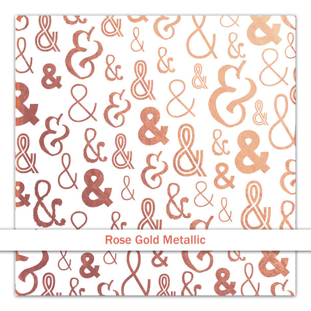 Metallic Vellum | & | Rose Gold