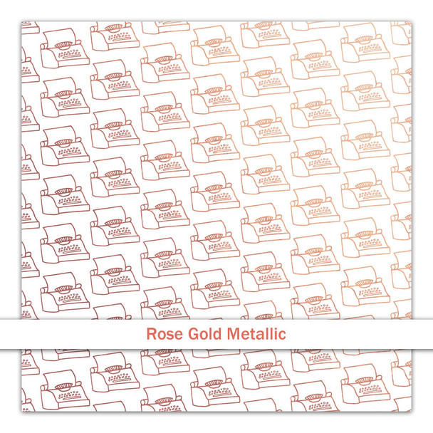 Metallic Clear | Just My Type | Rose Gold