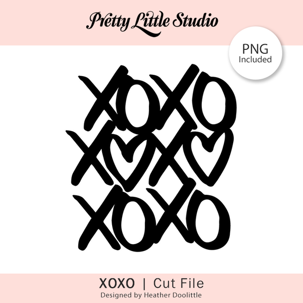 Free Cut File | XOXO