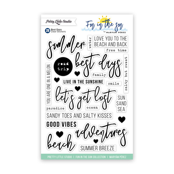 Stickers | Best Days | Clear