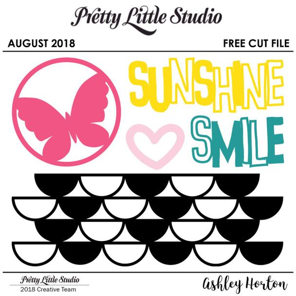 FREE Cut File | August
