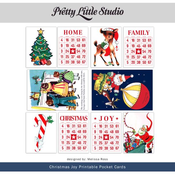 Printable | Christmas Joy Cards