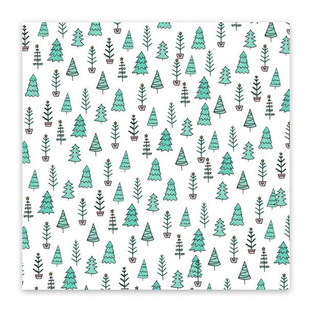 Paper | Fir Trees 12x12 (single-sided)