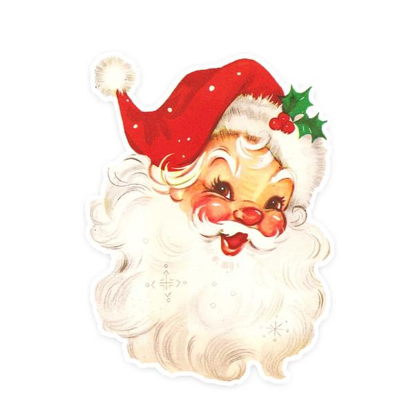 Vintage Die-Cut   Santa #23