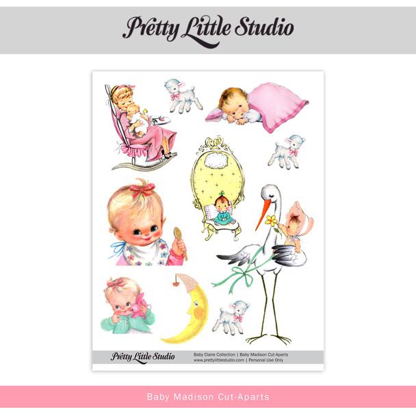 Printable |  Baby Madison Cut-Aparts