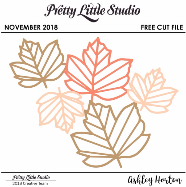 FREE Cut File | Fall Leaves