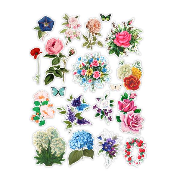 Die-Cuts   Flower Garden (pack)