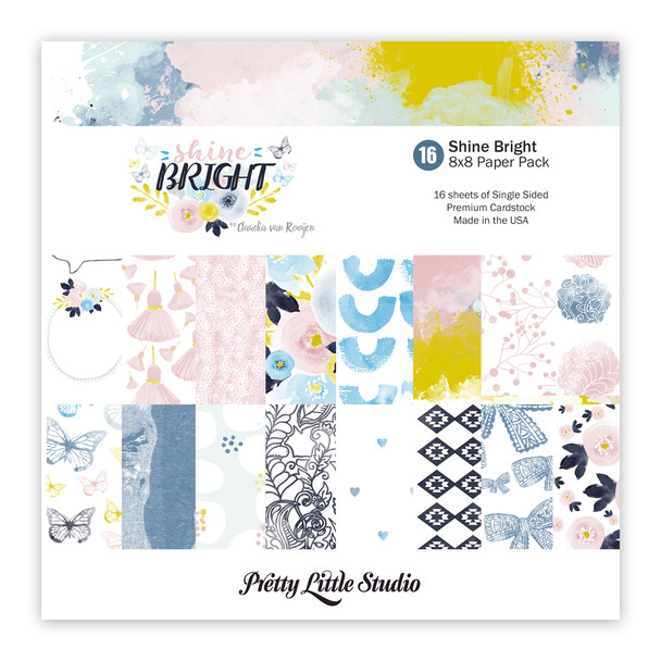 Paper Pack | Shine Bright 8x8 (single-sided)