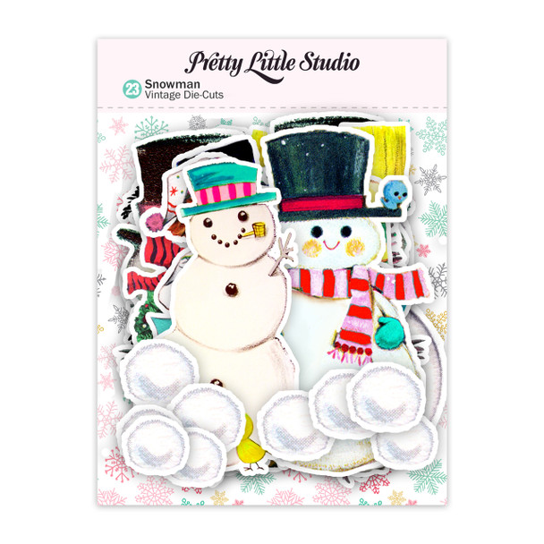 Die-Cuts | Snowman (pack)